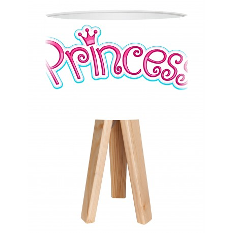 Lampa mini-trójnóg Princess